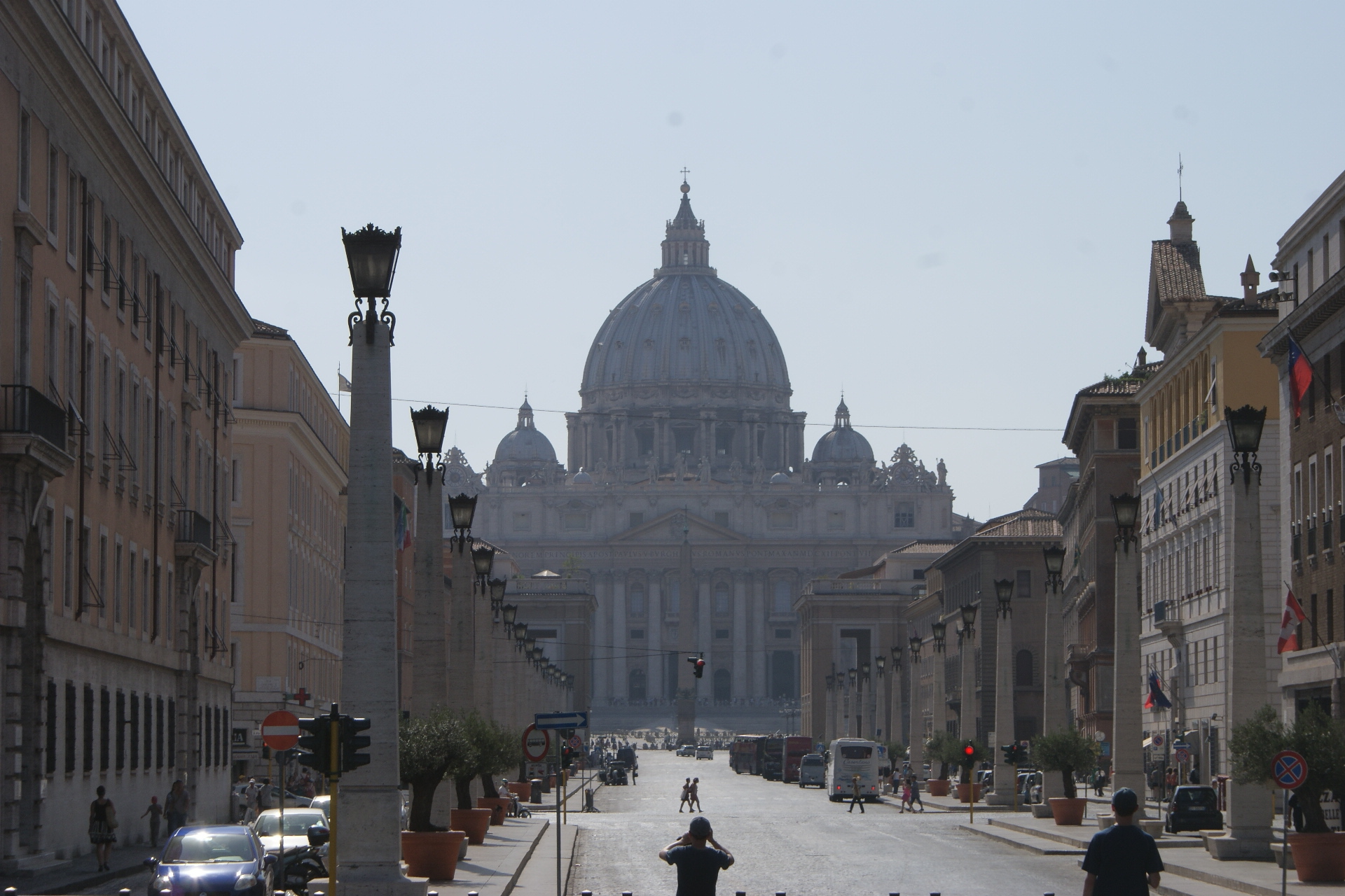 Perspex Police Stations, Thieving Backpackers and Ancient Rome