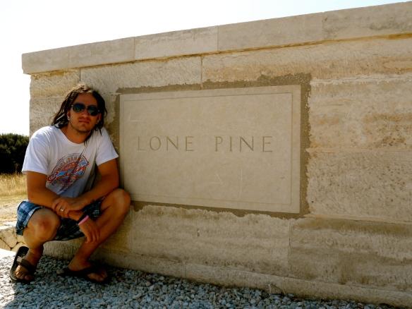 Lone Pine Memorial, Contiki