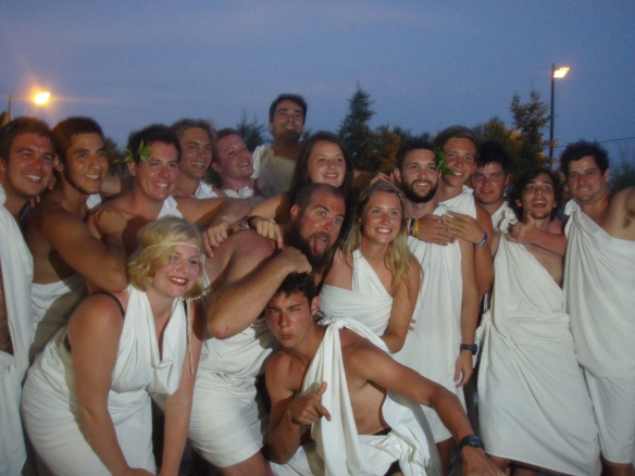 Corfu Toga party